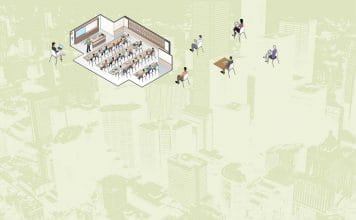 Image for City as Classroom article - students in and outside of classroom