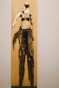 Persimmon Blackridge art work displayed at Tangled Art Gallery Toronto