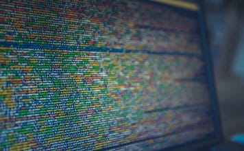Photo of computer code on screen by Markus Spiske on Unsplash