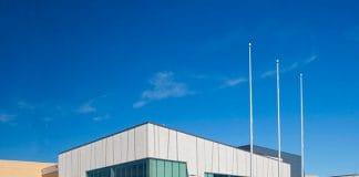 alt= image of exterior pan am centre scarborough