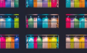 alt= photo of colorful doors